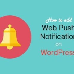 Add Push Notification in WordPress