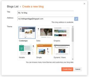 How to make a blog on Blogger