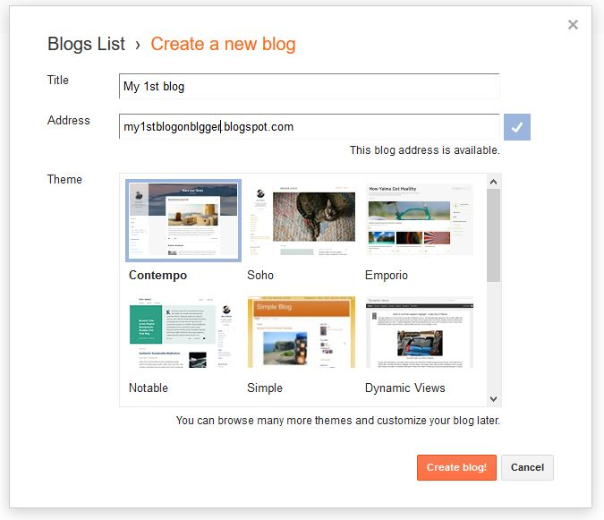 How to Create a blog on Blogger in 5 minutes | step-by-step