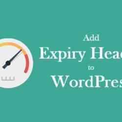 Easy way to Add Expiry Header to WordPress