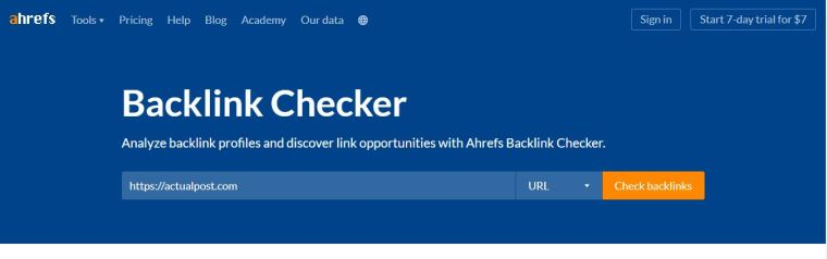 Backlink checker - Backlink Kya Hai aur Backlink Kaise banye