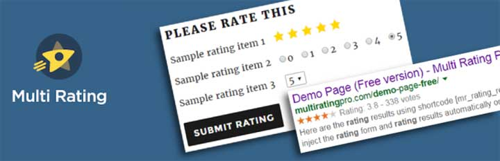 Multi-Rating WordPress Plugin