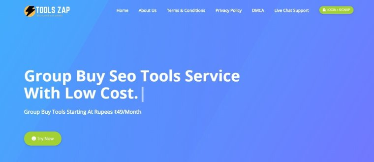 ToolsZap Group Buy SEO Tools