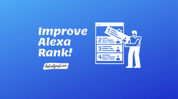 Alexa Rank Improve Kaise Kare