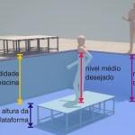 Plataformas para Fundo de Piscina