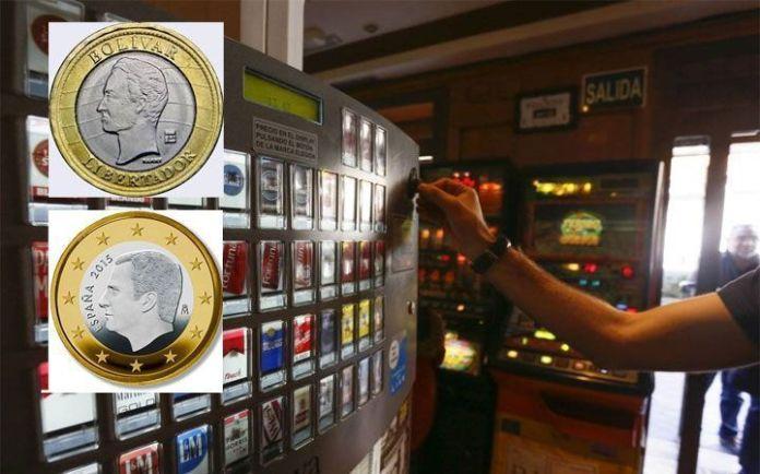 Bolívares por euros España