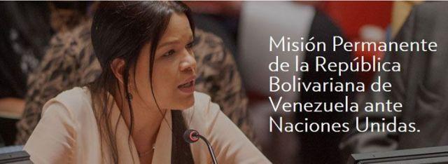 María Gabriela Chávez, imagen de Venezuela ONU