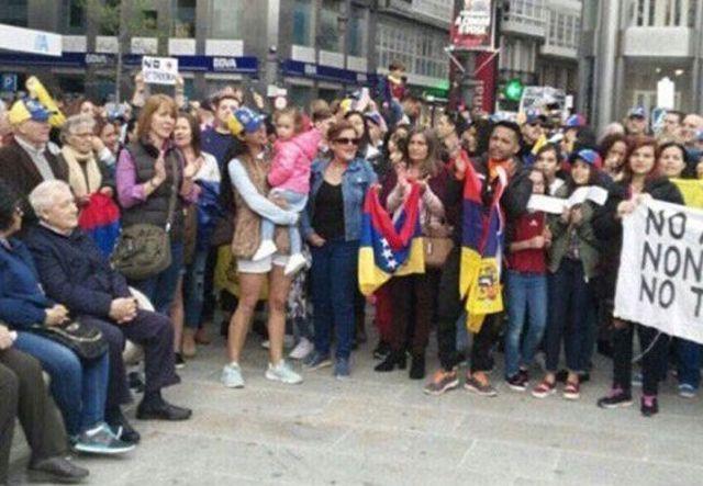 Venezuela protesta mundial España