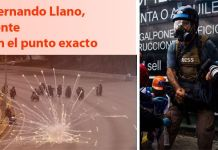 Fernando Llano en el punto exacto