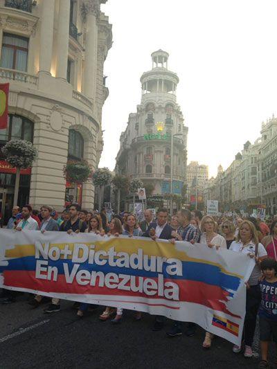 Venezuela en el G20 y Leopoldo en la Puerta del Sol