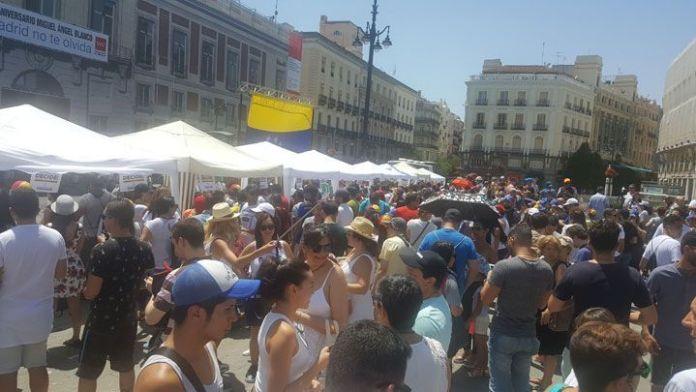 Madrid 2:00 pm: 16 mil 131 votos por el Sí