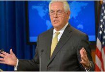Rex Tillerson: EEUU está estudiando la forma de derrocar a Maduro