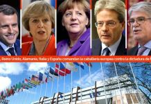 Escalada de sanciones a jerarcas del régimen discutirá Europa