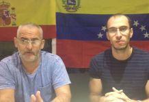 Venezolanos en apoyo a España
