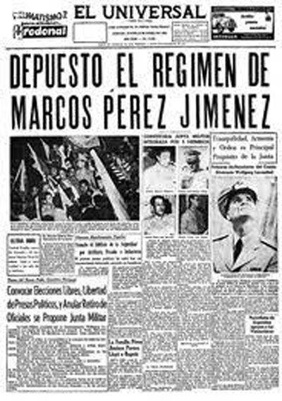 Lecciones de aquel lejano 23 de enero de 1958
