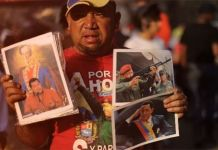 Los funerales papá Chávez