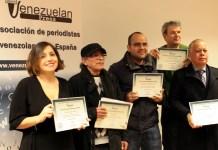Cinco medios digitales reciben en España el Sello de Calidad Venezuelan Press