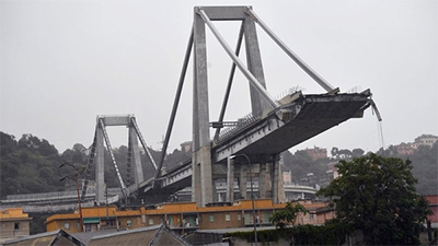 El puente de Pagüita, en Caracas, obra primeriza de Morandi