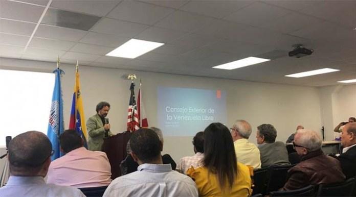 """Fundación en Miami del """"Consejo Exterior de la Venezuela Libre"""""""