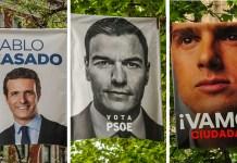 Juego de imágenes en las elecciones españolas