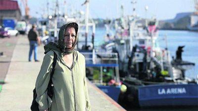 """El barco pesquero que """"rescató"""" Martín Pacheco"""