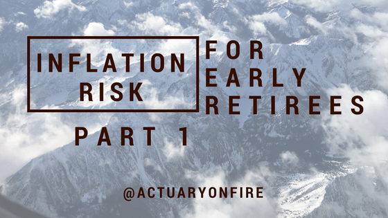 Inflation risk for early retirees