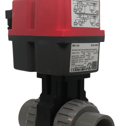 cepex extreme motorized pvc ball valve with j j electric actuator from avs [ 2207 x 3605 Pixel ]