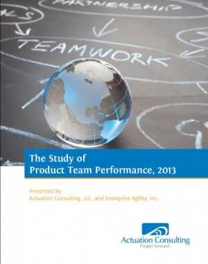 Greg Geracie, Actuation Consulting, The Study of Product Team Performance, Take Charge Product Management