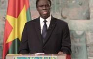MICHEL KAFANDO: Voici son message à la nation burkinabè
