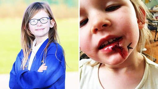 GRANDE BRETAGNE : une petite fille étrange nommée Olivia Farnsworth