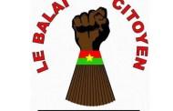 LE BALAI CITOYEN à propos des attentats: « ...les attaques sont le fait de groupes ayant longtemps fricoté avec le régime déchu »