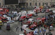 EXPLOSION A ST-PETERSBOURG (RUSSIE) : au moins 9 morts, la piste terroriste n'est pas exclue