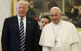 LUTTE CONTRE LA FAMINE :  en visite au Vatican, Trump promet 300 millions de dollars