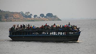 RD CONGO : 27 morts et 54 disparus dans un naufrage sur la rivière Kasaï