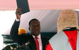 ZIMBABWE : le « crocodile » Emmerson investi président