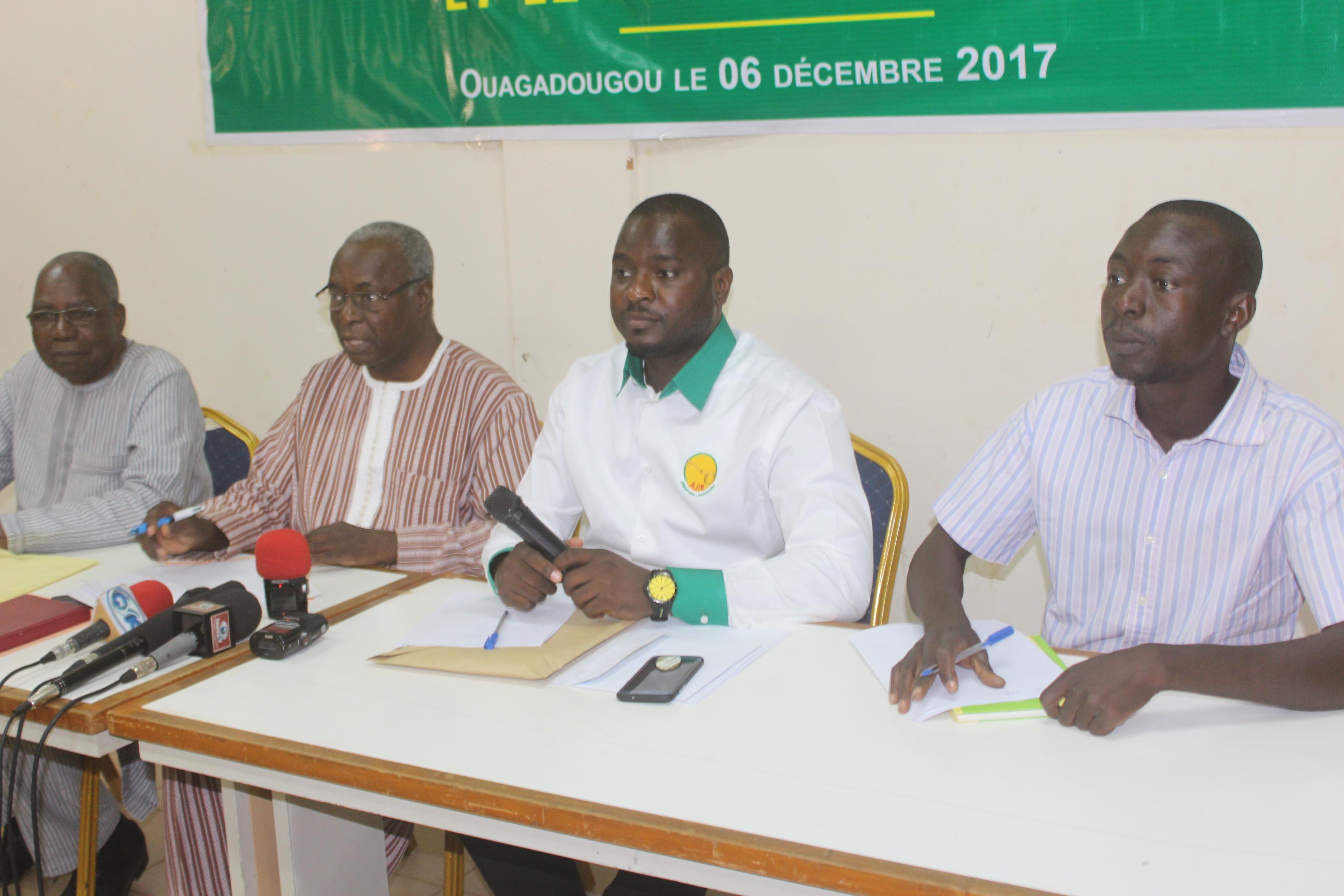 UNION POUR LA DEMOCRATIE ET LE PROGRES : la nouvelle formation politique officiellement présentée