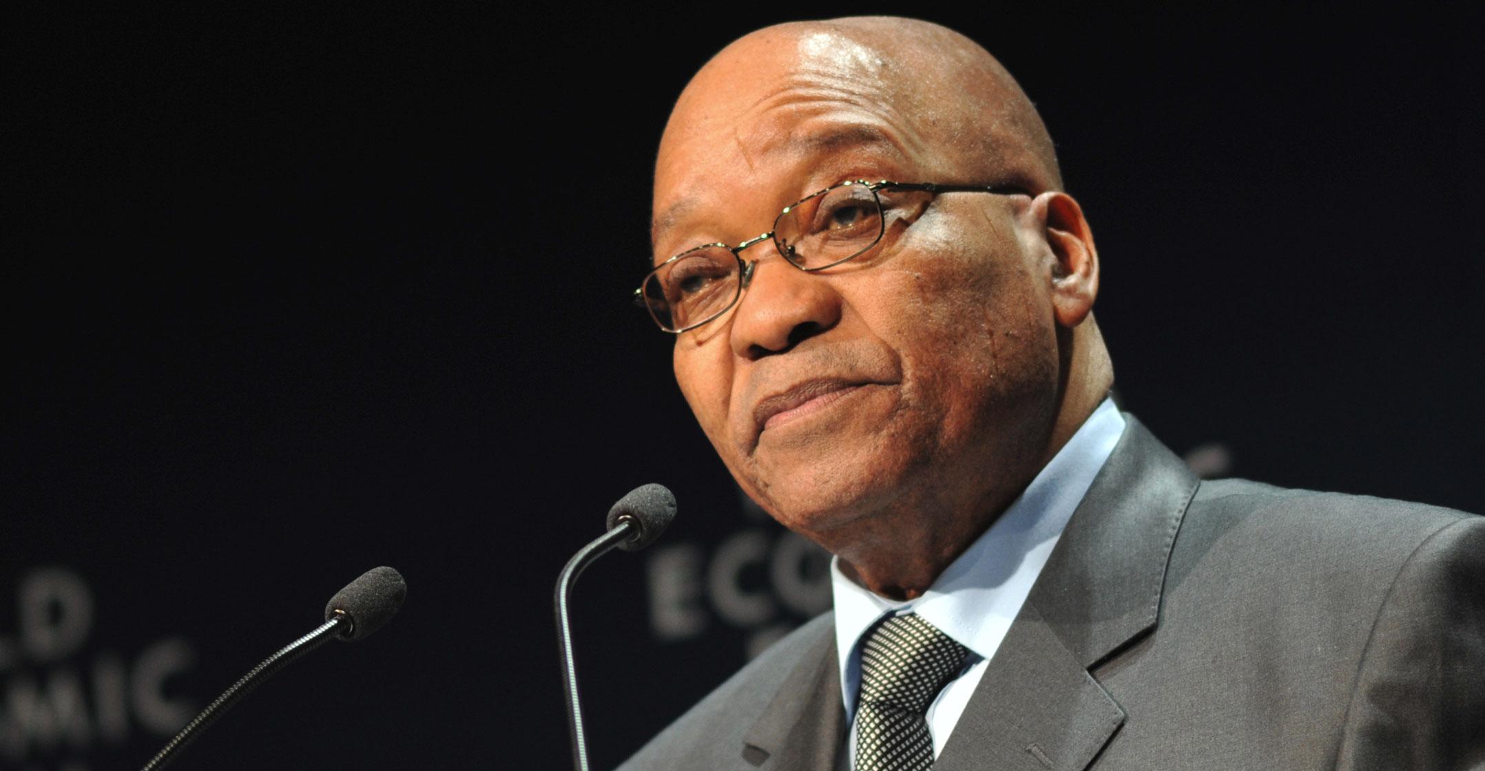 AFRIQUE DU SUD : Jacob Zuma juge