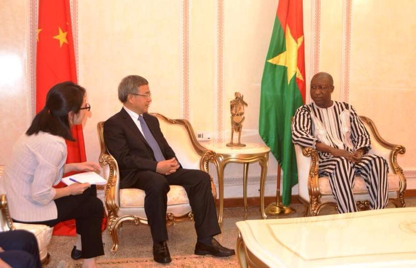 Coopération Chine-Burkina:Le vice-Premier ministre chinois à Ouagadougou pour une visite de travail