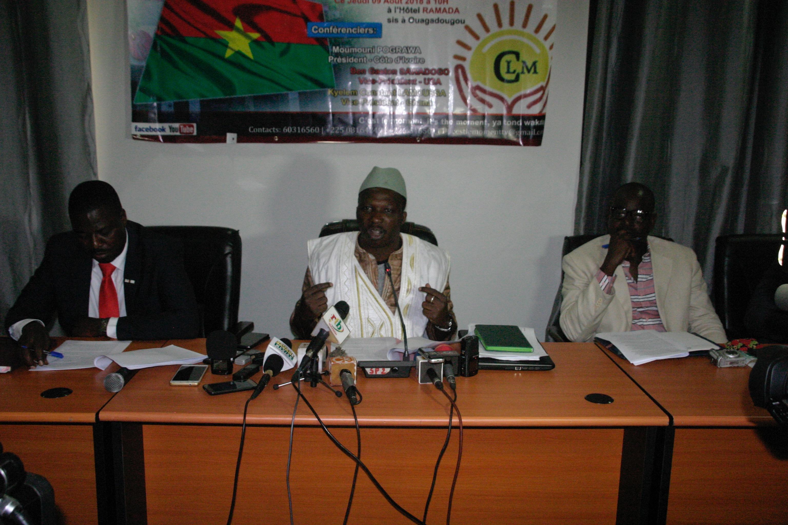 Moumouni Pograwa à propos du vote du nouveau code électoral:« Nous ne soutenons ni le gouvernement, ni la majorité »
