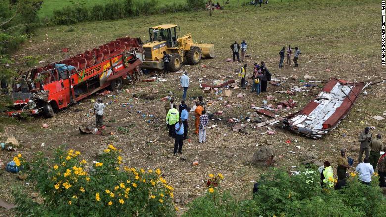 KENYA : un accident fait au moins 50 morts