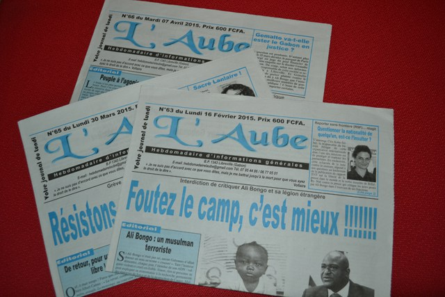 GABON: le journal