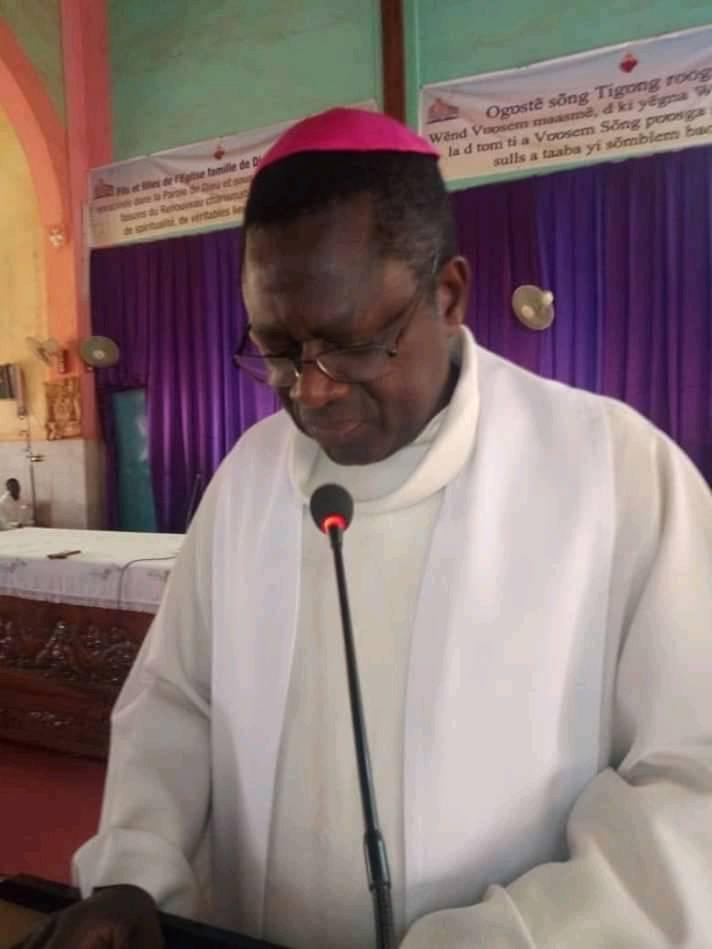 DIOCESE DE KOUDOUGOU: Abbé Alexandre Bazié nommé évêque auxiliaire