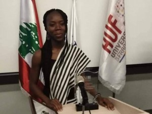 CHAMPIONNAT INTERNATIONAL DE DEBAT FRANCOPHONE: la Burkinabè Mathilde Zerbo remporte la 4e édition