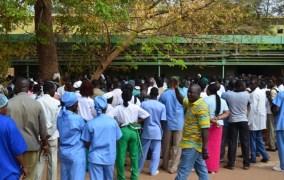 GREVE ANNONCEE DU SYNTSHA: des syndicats de la santé témoignent leur solidarité