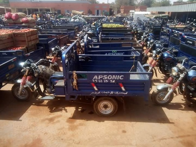 OUAGADOUGOU: 127 tricycles mis en fourrière