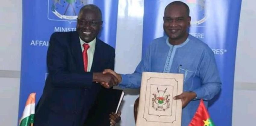 Burkina- Niger : un accord pour le développement de leur zone frontalière