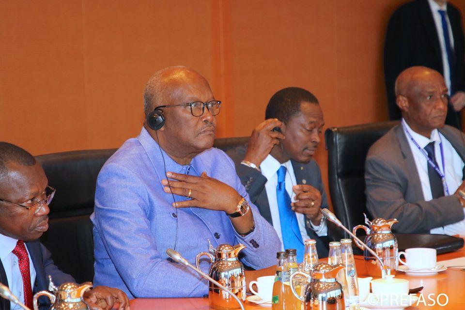 ROCH MARC CHRISTIAN KABOREA BERLIN : « nous avons besoin de faire en sorte que le partenariat pour la sécurité au Sahel ne soit pas une fuite en avant »