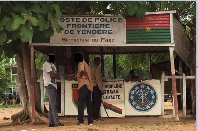 BURKINA FASO: le  poste de police de Yendéré attaqué