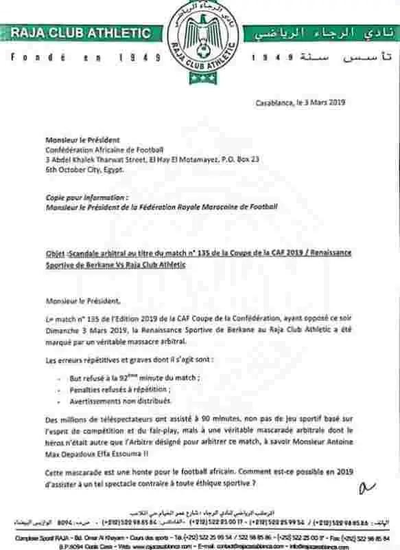 L'arbitre Depadoux Effa Essomba suspendu par la CAF