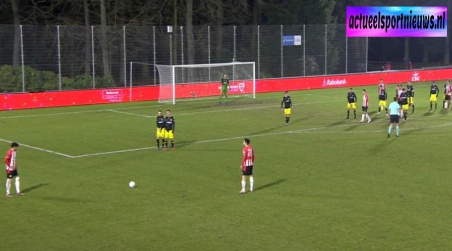Jong PSV - Go Ahead Eagles